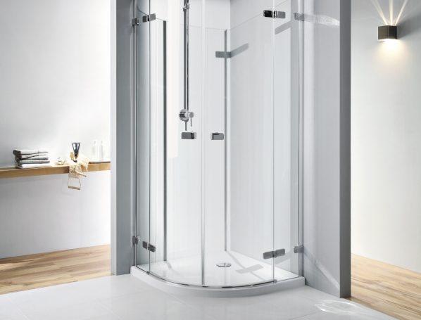 nowoczesna kabina na prysznic